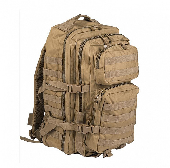 Batoh vojenský US ASSAULT PACK large Mil-Tec® - coyote