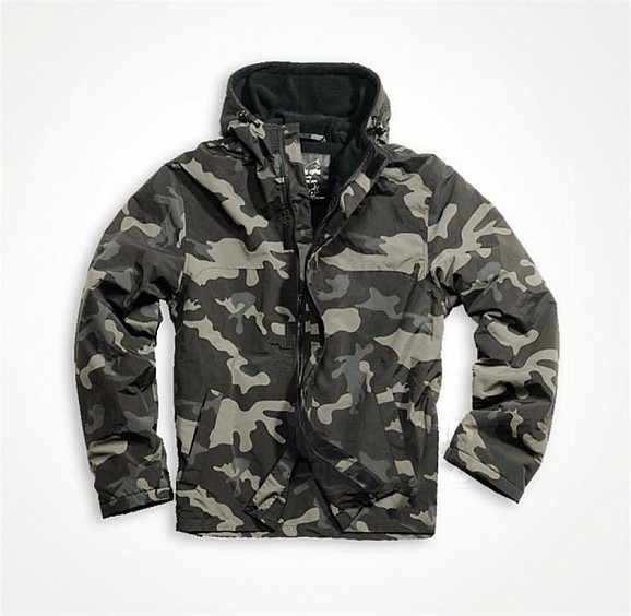 Outdoorová bunda SURPLUS Windbreaker Zipper - blackcamo