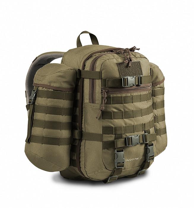 Vojenský batoh Wisport® Sparrow 30l - černý  65c99e6f35
