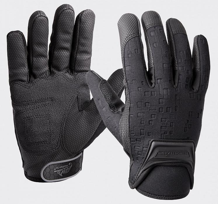 Střelecké rukavice Urban Tactical Gloves® Helikon-Tex® - černé ... 2d0699faba