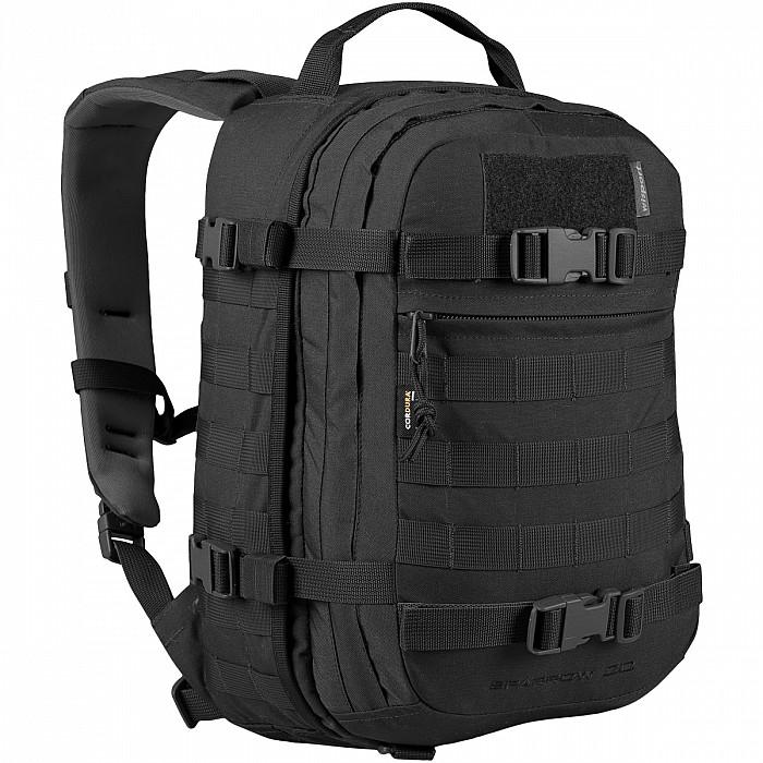 Vojenský batoh Wisport® Sparrow 20l - černý  eec2a4cdd1