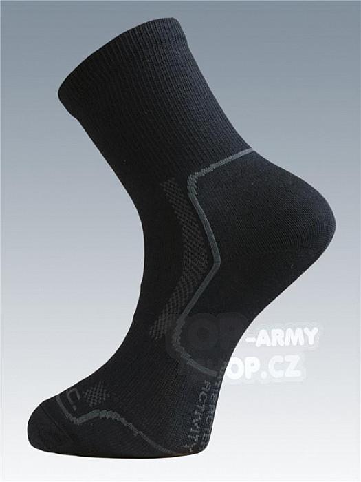 Ponožky se stříbrem Batac Classic - black  54c14699ae