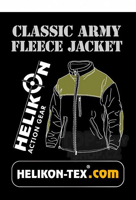e0d40eb48ee3 Fleecová mikina CLASSIC ARMY Helikon - foliage green